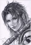 Fang - 2 Final Fantasy XIII by B-AGT