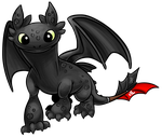Toothless by MystSaphyr