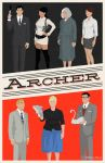 Archer poster by billpyle