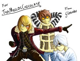 For Wello- Mello, Matt, Near by Glowies