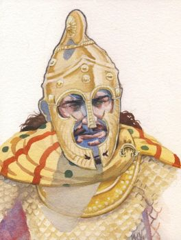 King Cotys I of the Odrysiae by deWitteillustration
