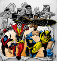 Collab: X-Men by Bampire