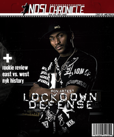 Ron Artest Mag Cover by mikeyrocks