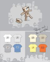 Incognito - Threadless WIP by 3rror404