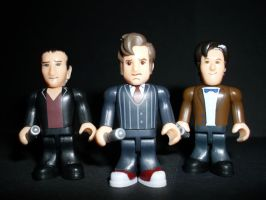 CB 9th 10th 11th Doctors by CyberDrone