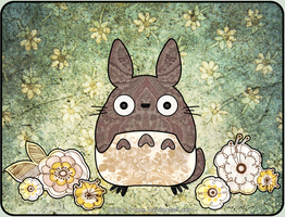 Totoro - Patchwork style by Silent--Haze
