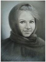 some beautifull russian girl by ironhearth23