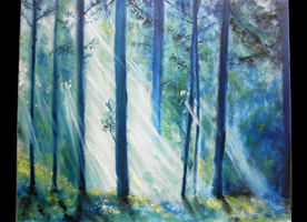Celtic Forest by AdinaCh
