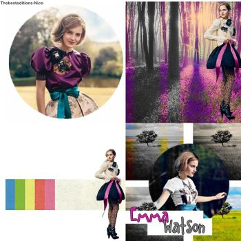 Blend Emma Watson by Thebesteditions-Nico