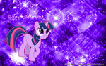 Twilight Sparkle Wallpaper by Cloud-Twister