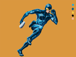 Ted Kord WIP and Crappy News by RayHeight