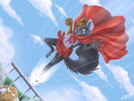 Super Blaideii fights for justice... by Lumary92