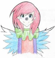 Rainbow Laughing Jack Front View by OPheliaFauncewater