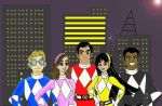Ranger Legends: Mighty Morphin by HighwindDesign