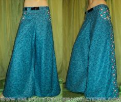 Hello-Kitty-Raver-Phat-Rave-Pants-Blue by RedheadThePirate