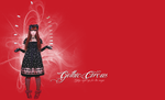 Peace Now Gothic Circus Wallpaper by mewpearl