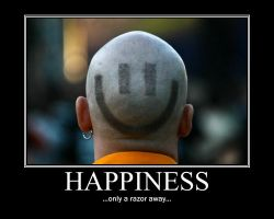 Happiness Demotivational by NeonVictorian