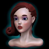 Redhead sculpt side by Nalimn