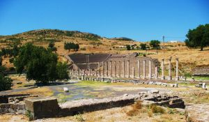 THE SANCTUARY OF ASKLEPIOS by yabannci