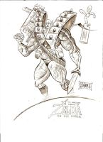 Liefeld Link by ScottEwen