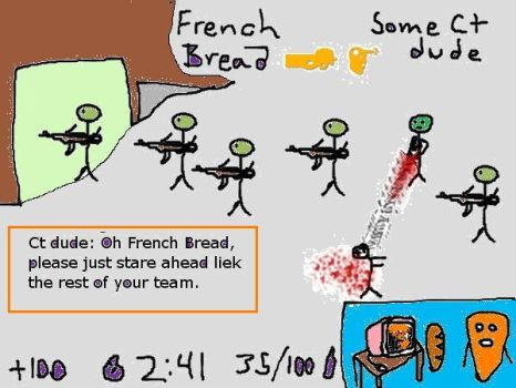 French Bread Comics 82 by peekleburr