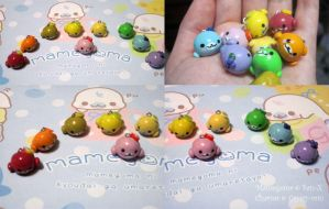 Fruit Themed Mamegoma Charms For Sale! by Cryssy-miu