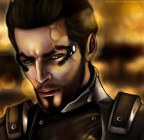 Adam Jensen by d1sarmon1a