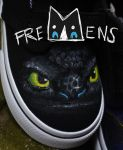Fremens - Toothless shoe by sindos