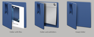 Blue Ribbon-Live folders by tchiro