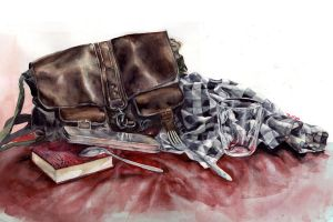 watercolor still life 2 by thuyngan