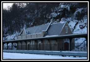 Old West Point Train Station by pikab2001