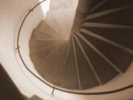 Spiral stairs by Nenthil