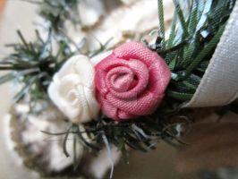 Fabric Roses by quickwing23