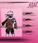 HSV RPG: Kuroku the Rogue by Sharky618