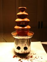 Chocolate Fountain by FantasyStock