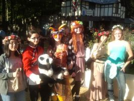 Group Picture at Renaissance Festival by pallaza