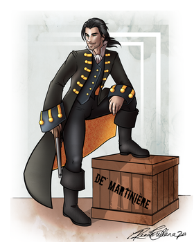 Pirate John Commission. by QuixoticWhimsy