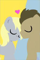 Derpy x Doctor Whooves by Midnight3128