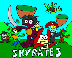 The Skyrates by Blackrhinoranger