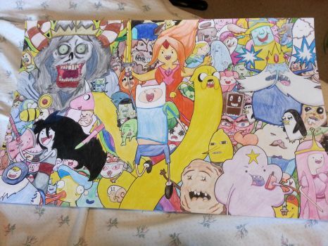 Adventure Time Collage by HurricaneJosh