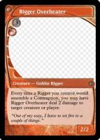 MtG: Rigger Overheater by Overlord-J