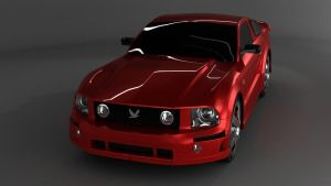 ford mustang by monkey3310