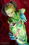 Green Mountain Dew Monster by Doomsday-Dawn