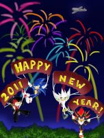 Happy 2011 New Year by chi171812