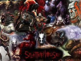 Splatterhouse V3.0 by lordi114