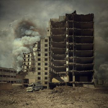 Faces of War II by Karezoid