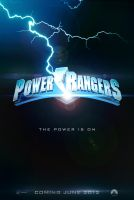 Power Rangers - movie poster by RafaelAveiro