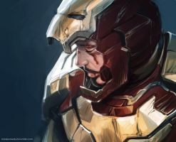 Iron man - Tony Stark by maXKennedy