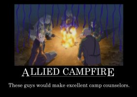 Allied Campfire by Maddy271
