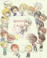 + Happy Easter + by Oni-Panda379